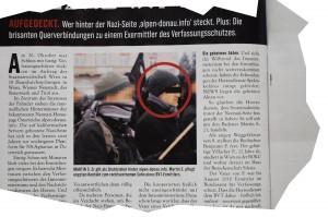 Martin Sellner wird als Administrator von Alpen-Donau.info vermutet. NEWS vom 11. November 2010